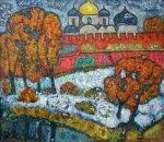 ***Софийский собор в Великом Новгороде - холст, масло, 60х70. Цена договорная