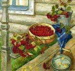 Красная калина - 1996, 90х95, холст, масло, 160 000,00руб.<br />