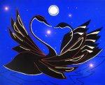 Лебединые ласки - 60*80, 2007г., 27000,00 руб.