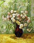 ***Цветы в глиняном кувшине - холст, масло, 60х45. Цена договорная